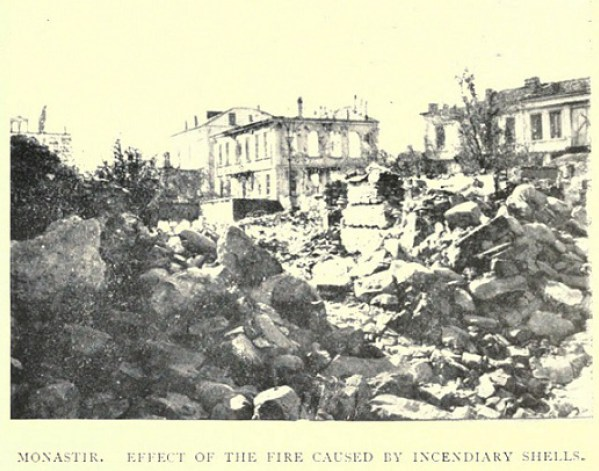 bombardment of bitola during ww1